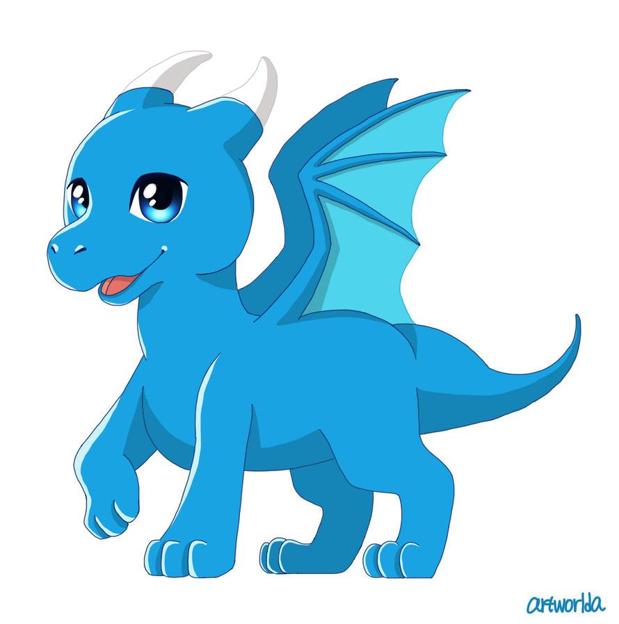 mini dragon by artworlda
