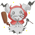 Trick or Treat Shiny Mimikyu