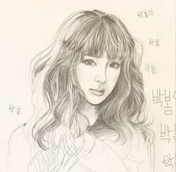 Unfinished Sketch of Bom by Jelenie08