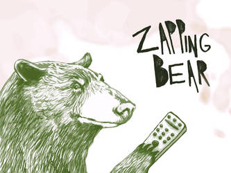 the zapping bear by gabrio76