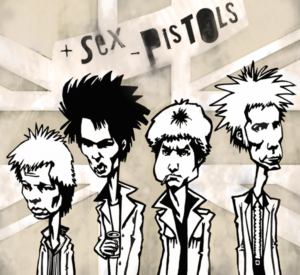 Sex Pistols by gabrio76