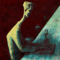 Alone in the bar by gabrio76