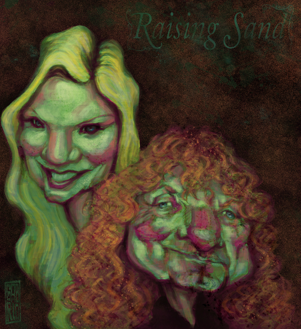 Alison Krauss and Robert Plant by gabrio76