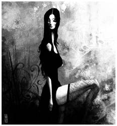 The widow by gabrio76