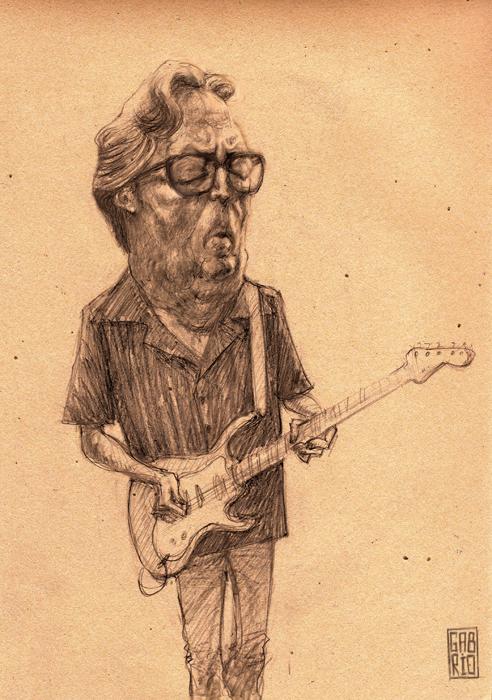Eric Clapton by gabrio76