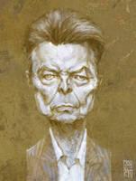 David Bowie by gabrio76