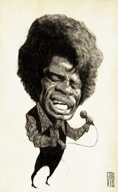 James Brown by gabrio76