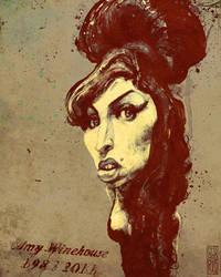 Amy Winehouse 1983 2011 by gabrio76