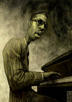 Thelonious Monk by gabrio76