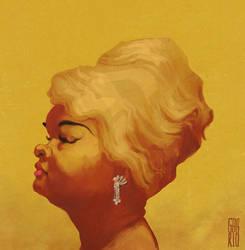 Etta James. by gabrio76