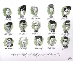 Rock And Roll Pioneers Of The 1950s