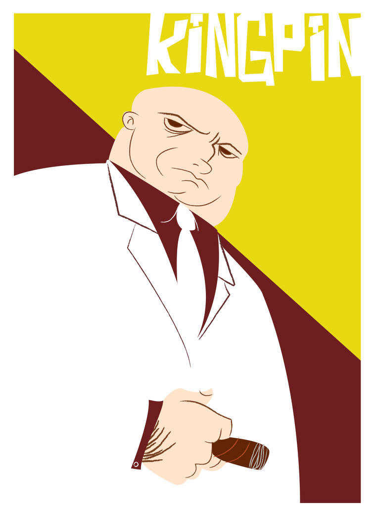 the Kingpin by olly-lofi