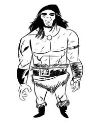 the barbarian with no name