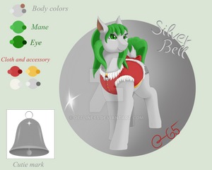 Character reference: Silver Bell [ pony OC ]