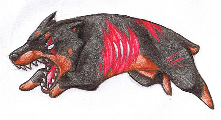 REB - Cerberus by Jackal-Mouse