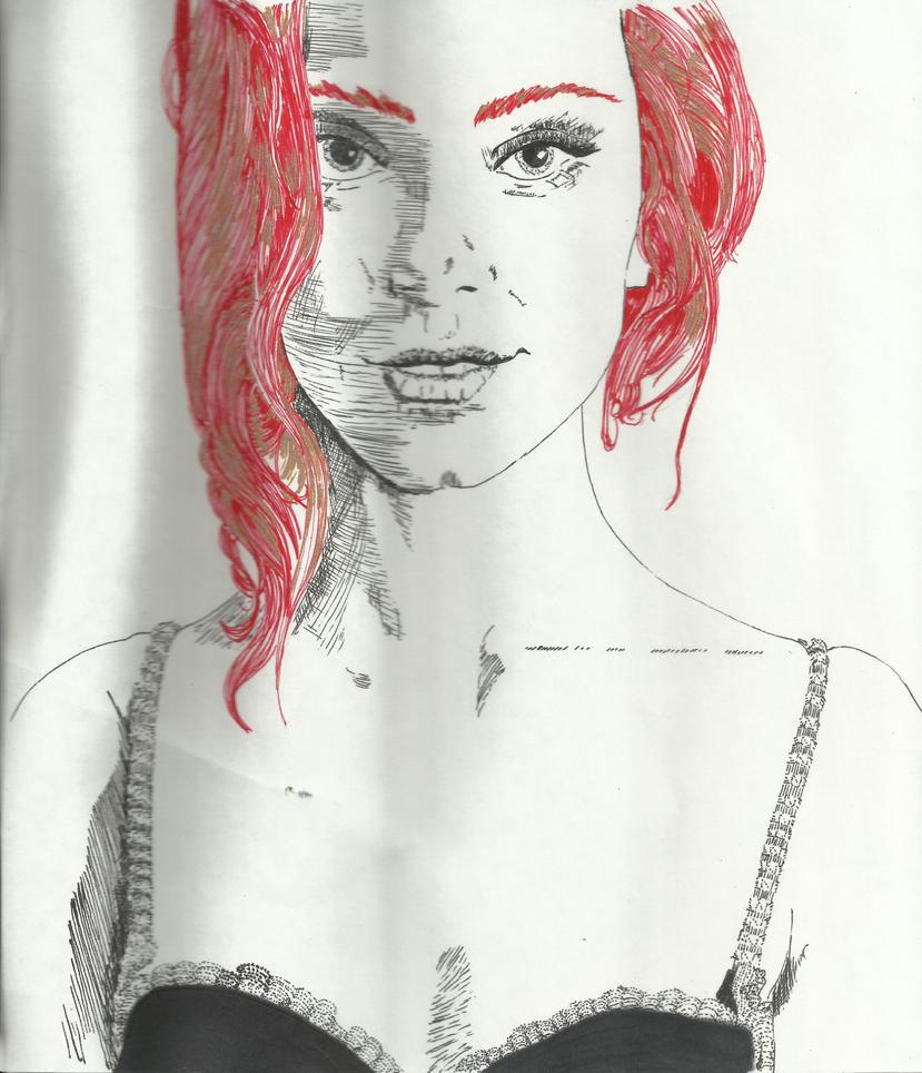 Red Ink Black by auburn42