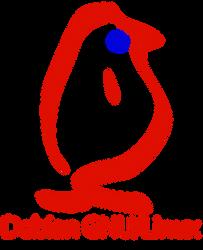 Debian Gnu Linux Old Logo by jonathanhher