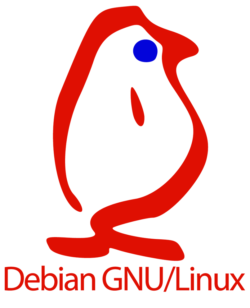 Debian Gnu Linux Old Logo by jonathanhher