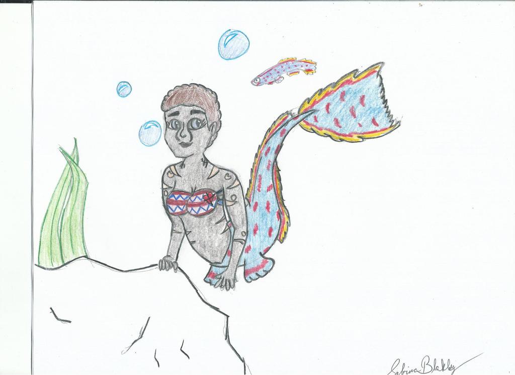Hazina Killifish Mermaid by PhantomisErik