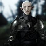Solas in Inquisition armor
