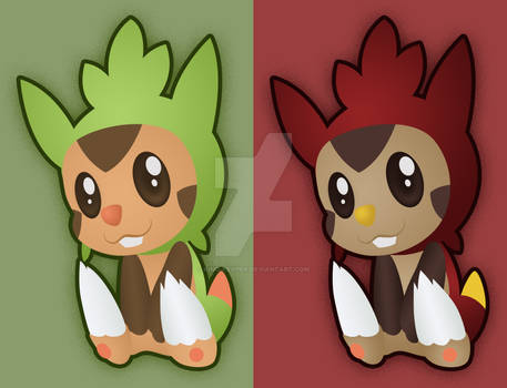 Chespin Stickers