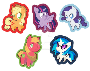 MLP Stickers Redone Part 2
