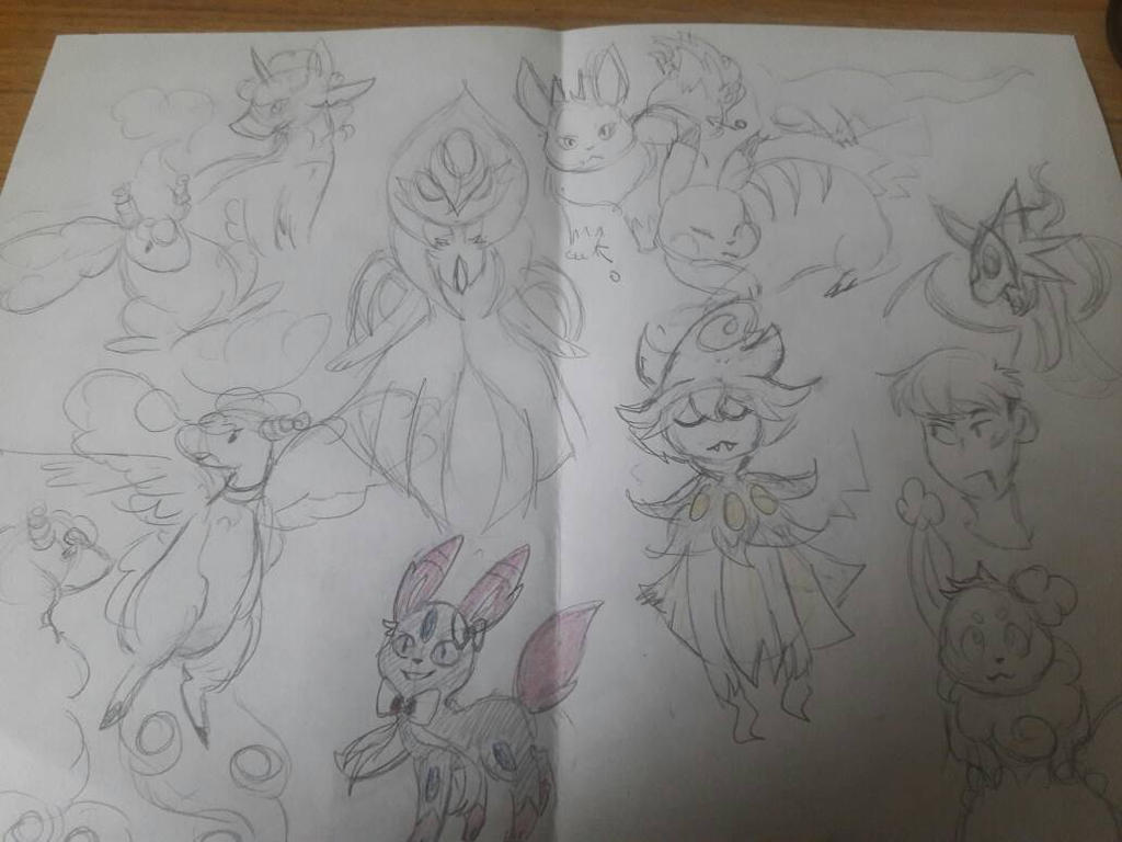 Pokemon fusion 2 by ChibiConan