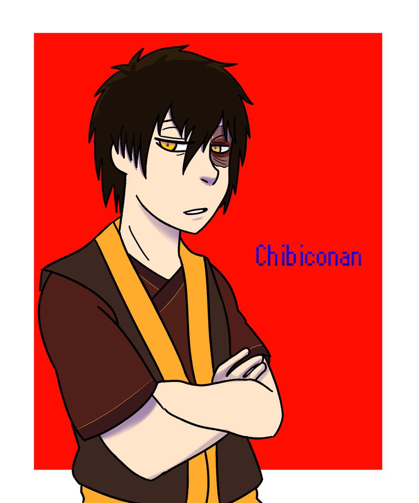 fanart request:silvervEXin  zuko by ChibiConan