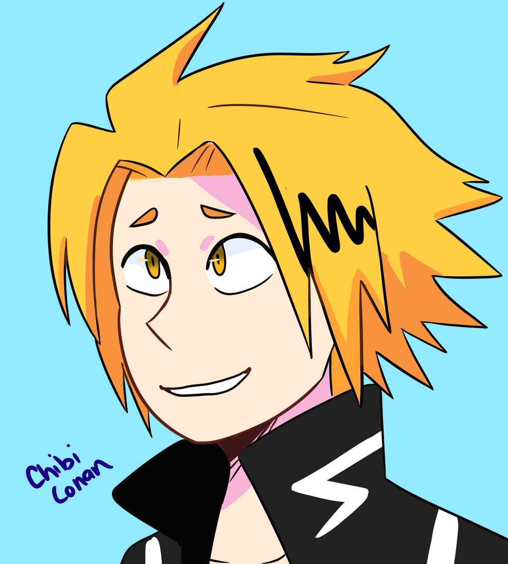 Denki Kun colored by ChibiConan