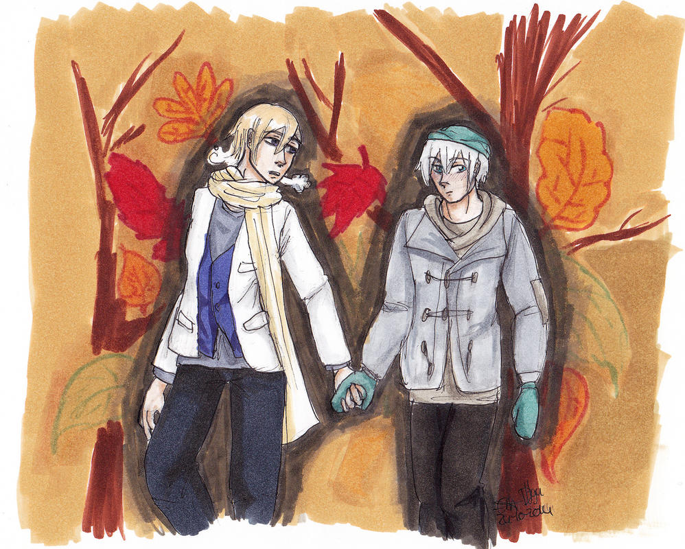 Ice and Nor autumn by Dutch-Loves-Tulips94