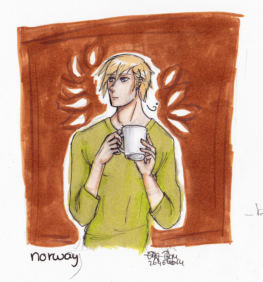 Norway coffee by Dutch-Loves-Tulips94