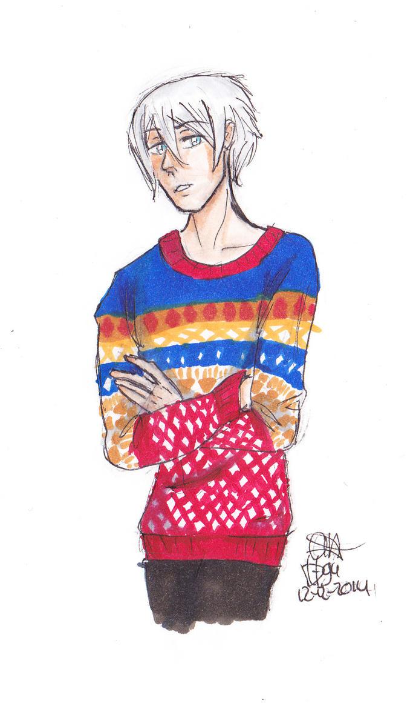 winter sweater by Dutch-Loves-Tulips94