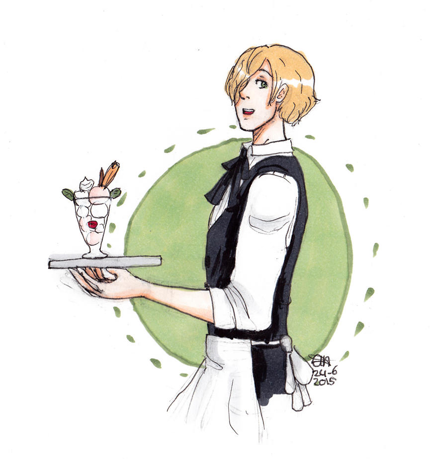 APH waiter Lux by AnnHolland