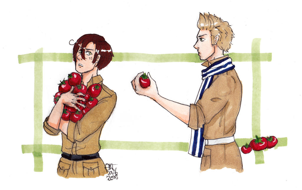 APH Ned and Romano by AnnHolland