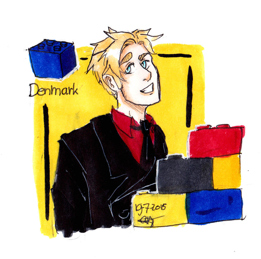 APH Dane and lego by AnnHolland