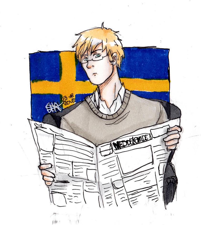 swe newspaper by AnnHolland