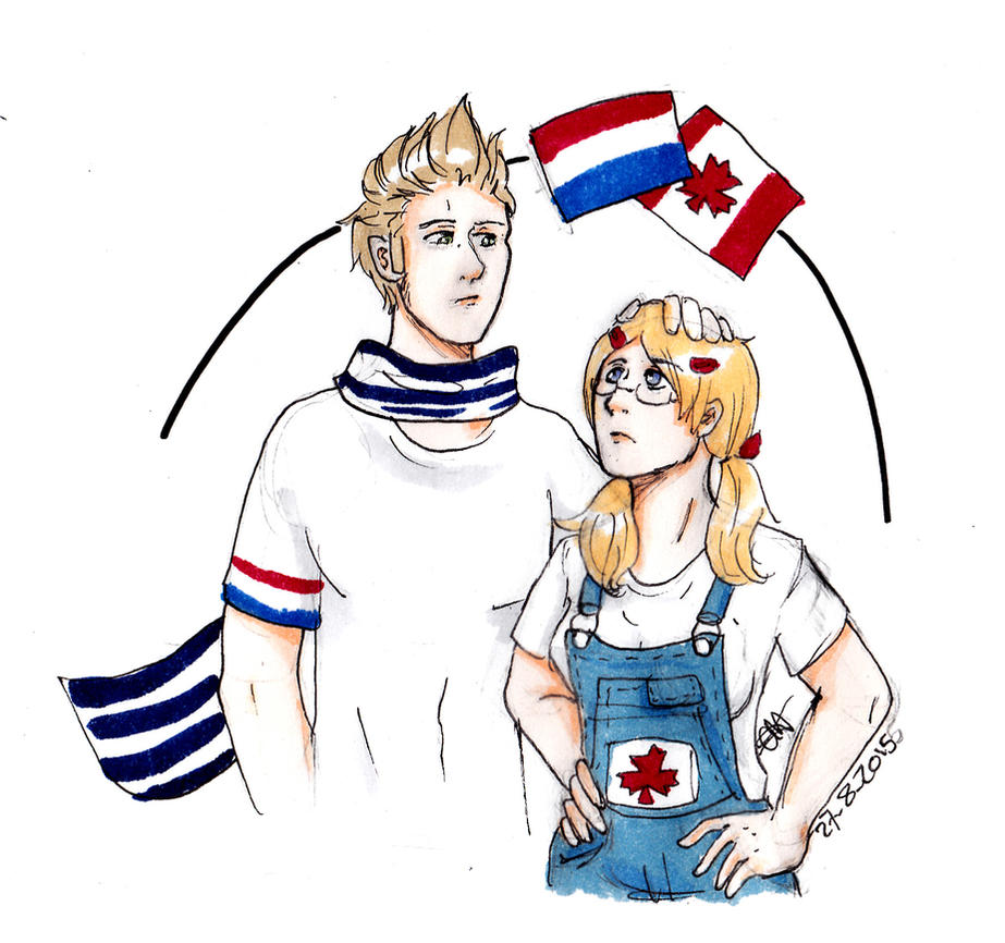 ned and fem can by AnnHolland