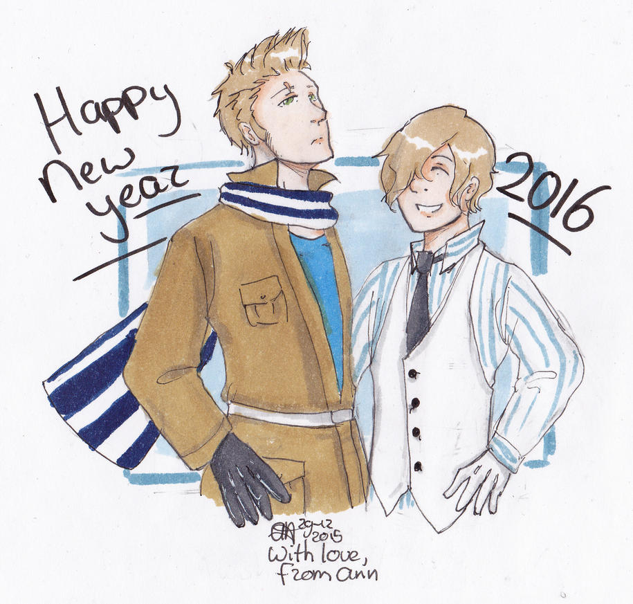 Happy new year 2016 by AnnHolland
