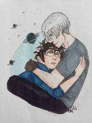 Yuri And Victor by AnnHolland