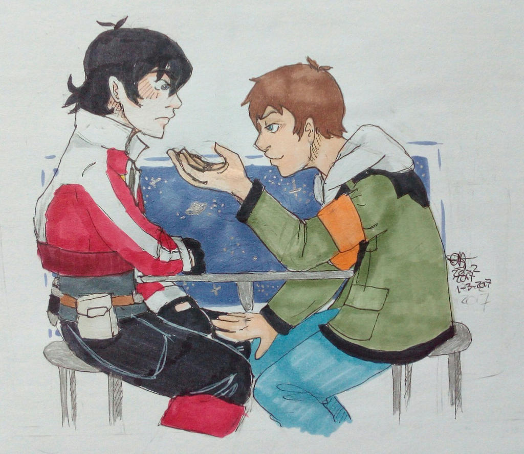 Klance Date by AnnHolland