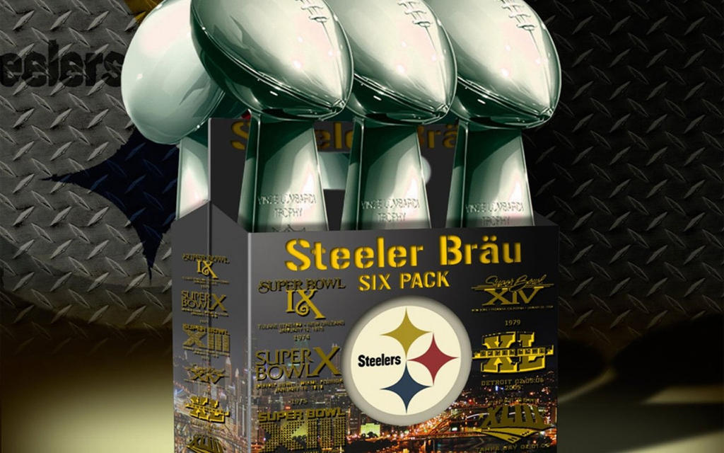 Steelers Lombardi Trophies by 1ForTheMoney2Go - 122.8KB
