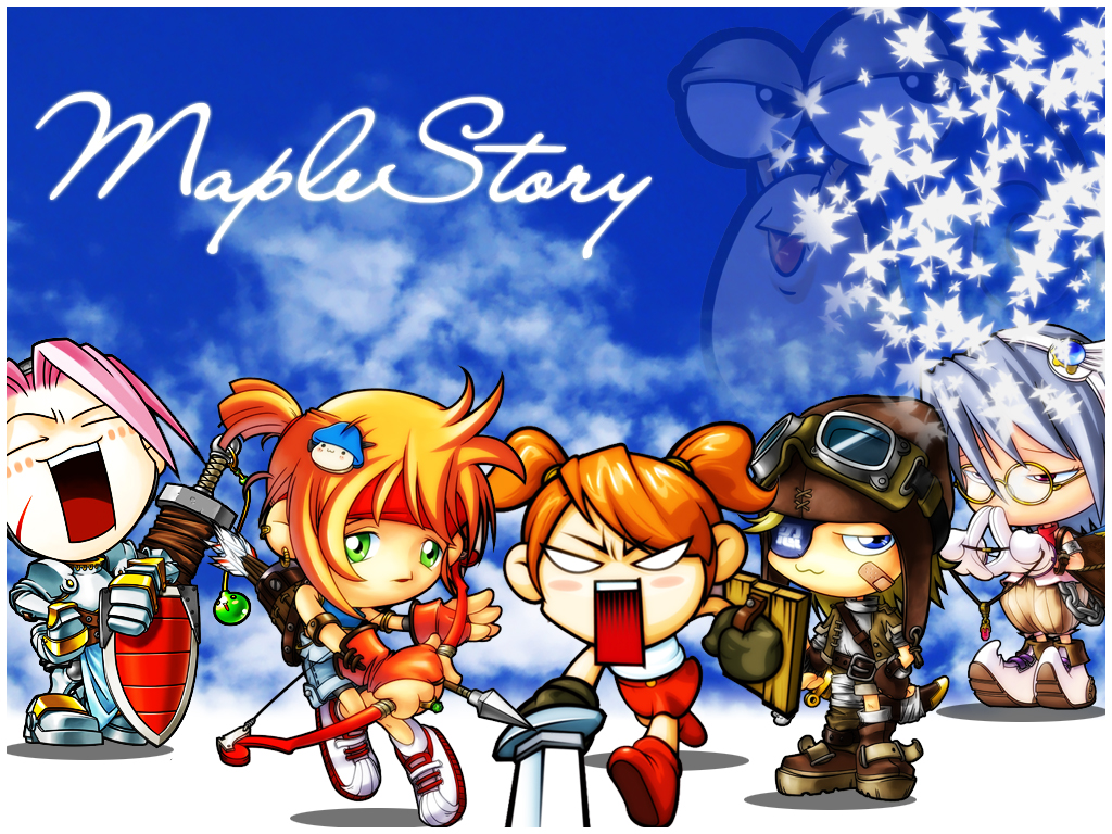 Maplestory Wallpaper By Bomberz On Deviantart