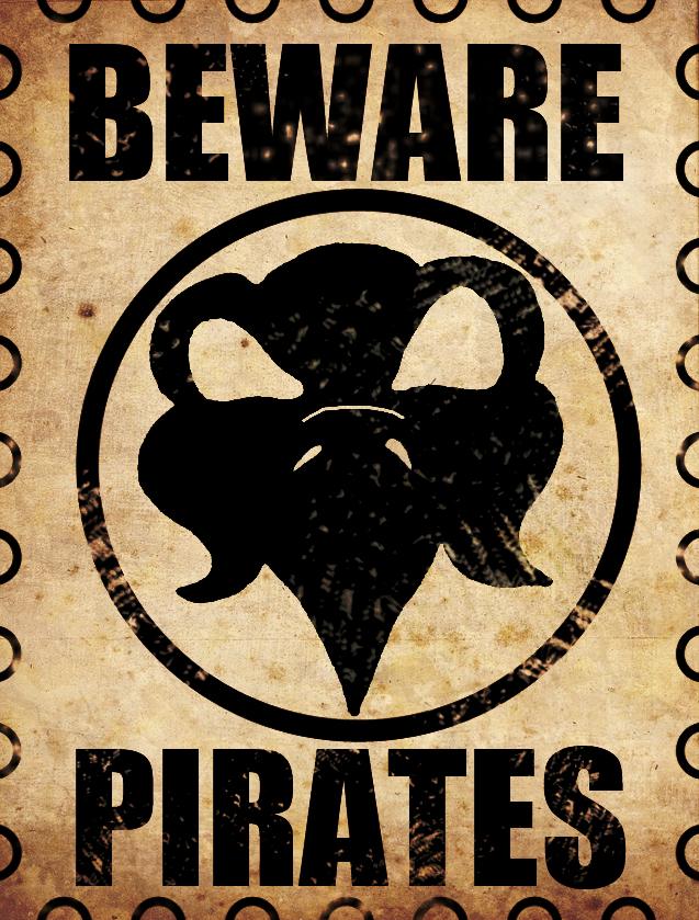 Beware Pirates2 by LarsLasse