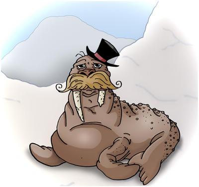 Russel Walrus by LarsLasse