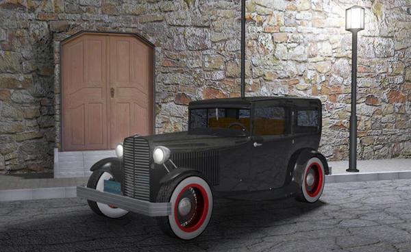 Ford 1938 3D model by LarsLasse