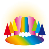 Rainbow Waterfall by shy-fox