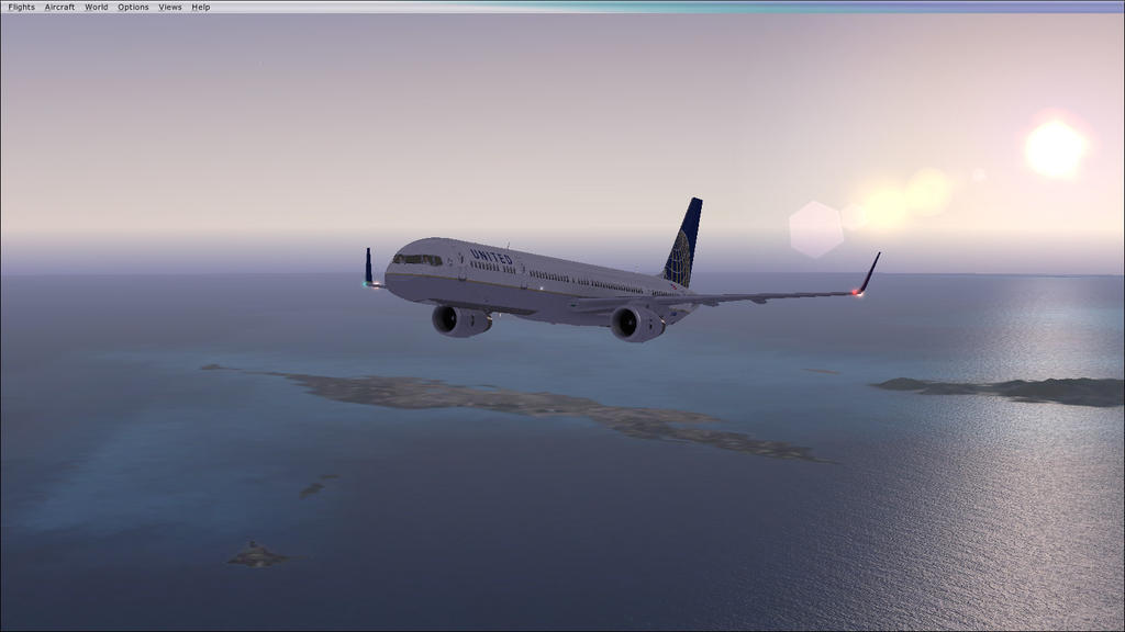 United Airlines Boeing 757-300 (FSX) by Silver2659 on DeviantArt