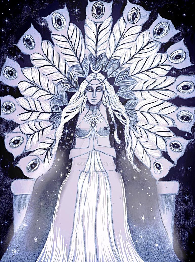 Juno Regina, Moon Goddess by Feles85
