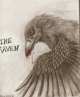 The Raven by chezarawolf