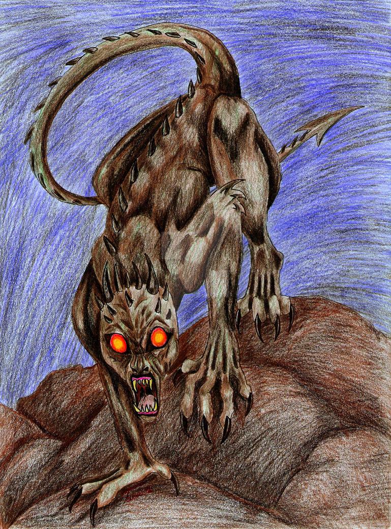 Chupacabra by chezarawolf